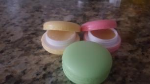 Macaroon Lip Butter Pots
